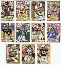 2012 TOPPS MAGIC MINI (12 CARD STAR LOT) BEN ROETHLISBERGER JERRY RICE JIM BROWN