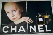 1970s ad page-Chanel No 5 perfume -Catherine Deneuve- vintage Advert ADVERTISING