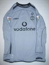 Umbro Manchester United Fabien Barthez #1 Jersey Centernary France Goalkeeper