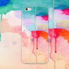 New Paint Pattern Phone Soft Back Skin TPU Gel Case Cover For iPhone 5 6 6s Plus