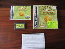 CAESARS  PALACE  ADVANCE         ---   pour GAME BOY ADVANCE  // COMPLET