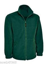 Mens Fleece Jacket Size XS to 6XL Plus  Zip-Up