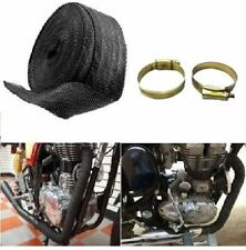 Silencer Wrap Bike Exhaust Heat Shield 3 metre lenght  For Royal Enfield Bullet