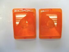 Bargman 31-84-016 Trailer Light Lamp Replacement Lens For 84 85 86 Series Amber