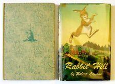 1944 Robert Lawson RABBIT HILL 1st in dj Newbery winner