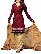 Indian Pakistanisch Unstitched Bollywood Salwar Kameez Designer-Kleid Anzug 9173
