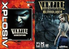 Vampire the Masquerade Bloodlines & Vampire the Masquerade redemption