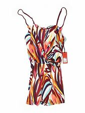 New Women Missoni For Target Creeping Floral Summer Romper Size XL