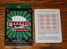 Marked Playing Cards Magic Trick- Mind Reading Fool Your Friends NEW SEALED