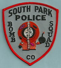 SOUTH PARK COLORADO BOMB SQUAD POLICE PATCH KENNY!