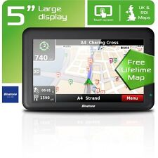 Binatone U505 5 Inch UK and ROI Sat Nav - Free Lifetime Maps - Free 90 Day G/tee