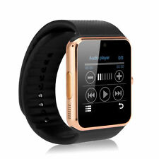 "GT08 1.54"" Touch Screen Bluetooth NFC Smart Watch Mate For Android IOS iPhone#5"