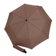 Doppler Carbonsteel Magic AOC Folding Umbrella 5 Year Warranty Gloria Truffle