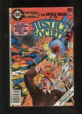 Untold History of the Justice Society DC giant comic JSA Superman vs Hitler
