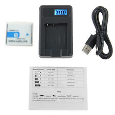 NP-BN1 NP-120 Casio 3.6V 650mAh Camera Battery + LCD Charger For Casio Hot