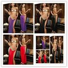 Sexy Women Leather SET Prisoner Clubwear Nightwear Lingerie Sleepwear Cosplay BH