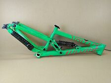 "Scott Voltage FR10 26"" Long DH Downhill Freeride Bike Frame - Green USED 074"
