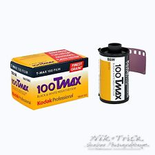 Kodak Tmax 100 35mm B&W Film ~ 36 Exp ~ Freshest UK Stock