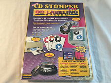 *NEW* CD Stomper Pro CD Labeling System -Easy to Use