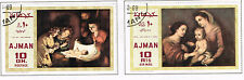 Ajman Arts Famous Paintings Madonna set 1969