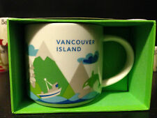Starbucks City Mugs Vancouver Island 13 You Are Here