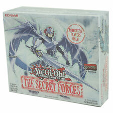 Yu-Gi-Oh Cards - The Secret Forces - Booster Box (24 Packs) - New Factory Sealed