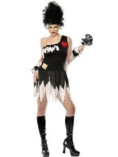 Monsters Bride Costume M UK 12/14 *HALLOWEEN CLEARANCE** Ladies Fancy Dress