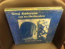 Greg Anderson Blue Eyes Crying in the Rain LP Illinois Private Press RADEX VG+
