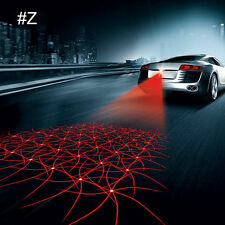 Auto Anti-Collision Rear Fog Driving Laser Web Design Caution Light Tail End Fu