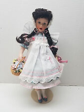 "Franklin Mint Heirloom 16"" Doll Mary Mary Quite Contrary Helen Kish Collectible"