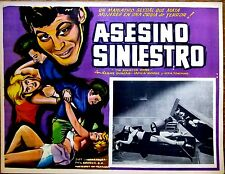 ED WOOD THE SINISTER URGE Mexican Sexploitation Horror Lobby Card S&M TIED WOMAN