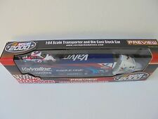 Mark Martin #6 Valvoline 00 Nascar Transporter and Diecast Stock Car Collectible