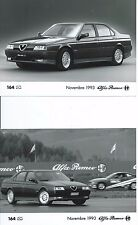 Alfa Romeo 164 Q4 SZ Original Press Photograph x 2