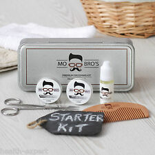 Mo Bro's Pettinatura Latta Set 6 Pezzi Inc Baslamo,Wax,Oil,Pettine Non profumato