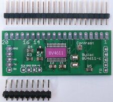 Serial & I2C 128x64 LCD Graphic Display Controller
