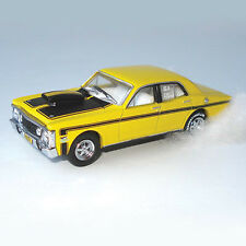 *NEW* 1969 XW GT Ford Falcon Yellow Street Rod HELRZR 1:64 Diecast Model Car