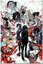 Hot Japanese Comics Anime Tokyo Ghoul Art Silk Posters 13x20 inch