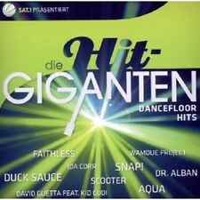 DIE HIT GIGANTEN DANCEFLOOR HITS 2 CD DUCK SAUCE UVM 2