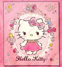 Hello Kitty pink Jewel graphic micro fiber Glasses camera Cleaning Cloth