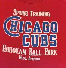 Vintage CHICAGO CUBS T-Shirt Hohokam Ball Park SPRING TRAINING Mesa AZ Starter