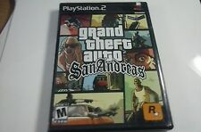 PS2 games Grand Theft Auto: Vice City & San Andreas - 2 Game Lot