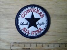1 x CONVERSE All Star Chuck Taylor Logo Embroidered Patch Iron/Sew-on