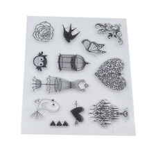 Various Shape Silicone Clear Stamp Transparent Seal DIY Scrapbooking Craft Decor
