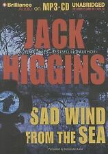 Sad Wind from the Sea by Jack Higgins (2014, MP3 CD, Unabridged)
