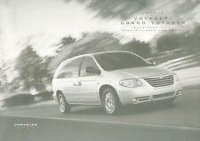 Chrysler voyager grand liste de prix d 3/04 car price List autopreisliste auto voitures