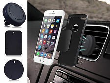 UNIVERSAL MAGNETIC AIR VENT DASHBOARD CAR HOLDER MOUNT FOR MOBILE GPS PDA IPOD