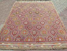 """Anatolia Turkish Antalya Nomads Kilim 76,3"""" x 97,6"""" Area Rug Carpet Wool"""