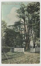 Old Postcard, E S London, No 4097, When The Leaves Begin To Fall