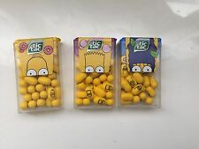 NEW! all 3 TIC TAC Packs SIMPSONS Homer, Marge, Bart  18g Big Pack