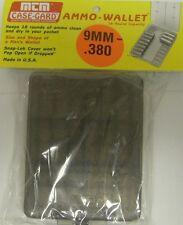 MTM Case Gard 18 Round Pistol Ammo Wallet Ammo Box 9mm 380 Auto 38 Sup W18-9-41